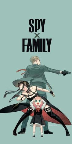 """""""❝simple home/lockscreen❞ ➥ family forger, Demian and Ania; Spy x Family🌿⠂̸ིꪰ९ ↷ ◌› fav if u like ↷ ◌› rt if u save ↷ ◌› screenshot if used ↷ ◌› ¡don't repost! be honest! ⁞ꜜ by: Catatau 🍒"""" Anime Cupples, Anime Guys, Anime Art, Dark Fantasy, Thriller, Japanese Poster Design, Family Poster, Horror, Manga Covers"""