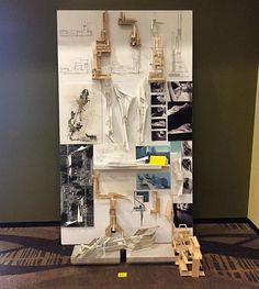 another top board from this year's pin-up #ucfarchitecture #ucf #exhibition #next_top_architects : @valenciacollegearchitecture