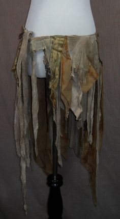 tattered clothes, ooak, festival wear, flowing, playful, gypsy, hippie