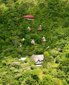 Luna Lodge, Costa Rica...this place is now on my bucket list. Who couldn't use a week of soul healing through yoga, organic foods and massage therapy?!?