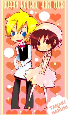 OURAN: lalala by ~Schieska  More Pretty Ouran. ^-^