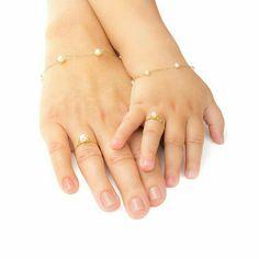 Gold Children's Ring with - Fashion Jewelry - Schmuck Jewelry Tags, Baby Jewelry, Kids Jewelry, Pandora Jewelry, Bridal Jewelry, Bridesmaid Jewelry, Gold Jewelry, Jewellery, Gold Necklace