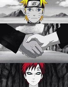 It's not the face that makes someone a monster. It's the choices they make with their life! -Naruto #gaara