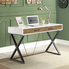 You'll love the Samford Computer Desk at Wayfair - Great Deals on all Office  products with Free Shipping on most stuff, even the big stuff.