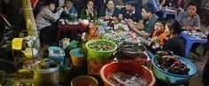 Hanojský street food. Vesnice Bat Trang - Hanoj. #hanoj #cestovani #streetfood #travel #vietnam