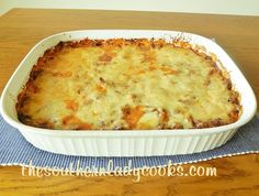 This recipe for Baked Spaghetti has been a favorite of my family for years.  Just add some garlic bread and a salad for a great meal.  Your family and friends will love this spaghetti. It is great ...