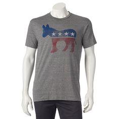Men's Democratic Donkey Tee