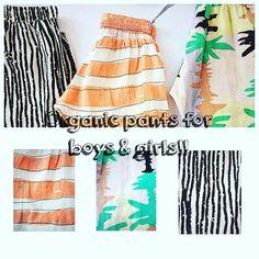 Organic pants🍃 www.heladoderretido.com Babies Clothes, Tie Dye Skirt, How To Make, Pants, Kids, Fashion, Trouser Pants, Young Children, Moda