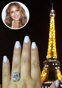 Adrienne Bailon - Best Celebrity Engagement Rings: Photos and All the Details!