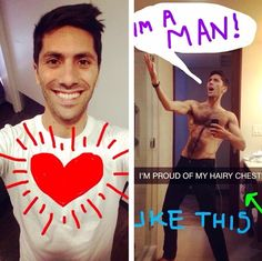 And I GET IT, some people trim. You can do whatever the fuck you want to do with your body. I'm just advocating for pubes. It's my job. It's the right thing to do. Nev Schulman, Hot Actors, Hottest Actors, Hairy Chest, Done With You, Proud Of Me, Aesthetic Backgrounds, I Got This, Cute Guys