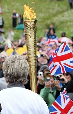 London Olympic torch #olympics