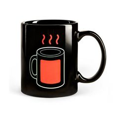 Thermal Mug.shows a steamy red mug when hot liquid is inside the mug. Hot Coffee, Coffee Shop, Coffee Cups, Tea Cups, Coffee Lovers, Thermal Mug, Red Mug, Good Morning Coffee, My Collection