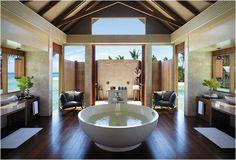 Dream Bathroom - open air shower in the warm sun
