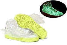 factory price 63df9 fd178 Adidas Originals JS Wings Clear Star Glow In The Dark price  119.99 Adidas  Originals,