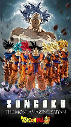 Goku – All Forms, Dragon Ball Super Goku Super Saiyan, Dragon Ball Goku, Anime Dragon Ball Super, Anime Characters, Dragon
