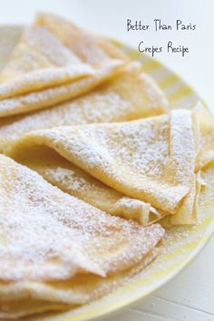 Best Crepe This is my Mom's easy, fail-proof recipe for crepes. After visiting Paris last Fall, I can safely say these are better!This is my Mom's easy, fail-proof recipe for crepes. After visiting Paris last Fall, I can safely say these are better! Best Crepe Recipe, Crepe Recipes, Brunch Recipes, Dessert Recipes, Simple Crepe Recipe, Crepe Recipe For Two, Crepe Recipe Blender, Breakfast Desayunos, Desert Recipes