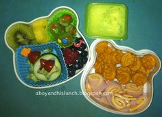 A Boy & His Lunch: Quick Bento
