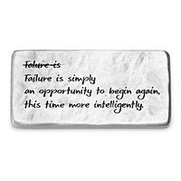 FAILURE IS AN OPPORTUNITY PAPERWEIGHT|UncommonGoods