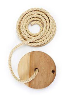 "swing rope $100- 20'rope, 12"" diameter"