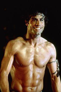 John Travolta circa 1983...so hot...why dont they make men this way anymore?