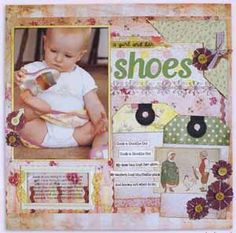 Mother Goose\'s Guide to Scrapbooking Your Baby - ON SALE!