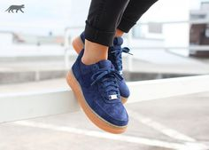 Nike Air Force 1 07 Suede Black Trainers - Google Search