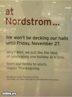 I'm not sorry, but I think this is awesome. I need to shop at Nordstrom more. #grinch #lonelyJew