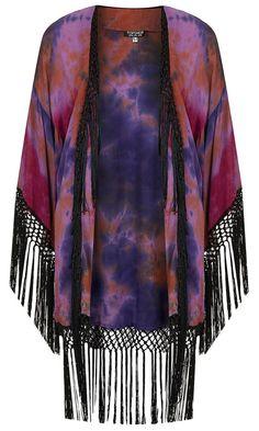 Topshop Tie Dye Kimono, £60