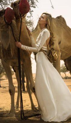 Desert Dream: Ralph Lauren Collection photographed in Azerbaijan for Nargis Magazine