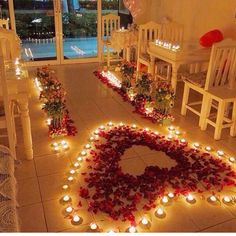That's pretty.  Would love to be proposed to like this.