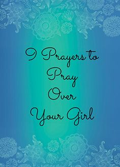 9 Prayers to Pray Over Your Girl {FREE Printable} companion to Magnetic book by Lynn Cowell | Fruit of the Spirit | Galatians 5:22-23