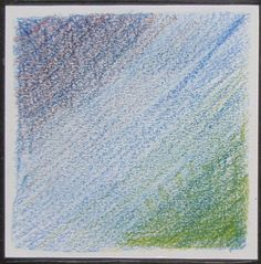 Project 1 - Stage 2: exercise 3. Pencil crayon on cartridge paper - blending colours