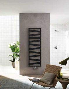 Zehnder Ribbon Designer Heated Towel Rail, Available in various sizes and from stock in Chrome, White, and Matt Black. Home Design, Küchen Design, Modern Design, Kitchen Radiator, Towel Radiator, Black Radiators, Column Radiators, Towel Heater, Decorative Radiators