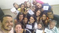 """Dia de Dinâmica de Grupo com nossa turma tema: """"Impactos positivos das Redes Sociais!"""" #Una #ToNaUna #RedesSociais #DinamicaMania #DinamicaManeira"""