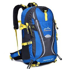 Large-capacity backpacks hiking camping rucksack backpack ** To view further, visit now : Backpacking gear