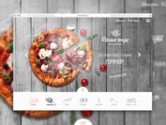 "Check out this @Behance project: ""Website design : Mom's Pizza www.маминапицца.рф"" https://www.behance.net/gallery/33606911/Website-design-Moms-Pizza-wwwmaminapiccarf"