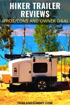 For people who can't get enough of the great outdoors, Hiker Trailer can make getting out into nature easier than ever. Hiker Trailer is a U. Hiker Trailer, Overland Trailer, Small Camping Trailer, Small Trailer, Camper Trailers, Travel Trailers, Campers, Adventure Of The Seas, Adventure Travel
