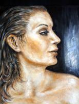 """Il gentil sesso I"", Acryl, 60 x 50 cm"