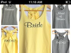 Awesome t-shirts for bachelorette party