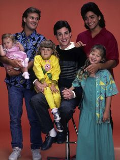 """Danny Tanner and Uncle Joey -- """"Full House,"""" 1987 Full House Season 1, Full House Cast, Full House Tv Show, Full House Funny, Ful House, Full House Quotes, Uncle Jesse, House Star, Paddy Kelly"""