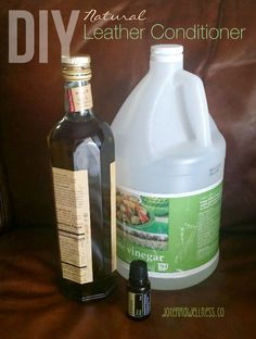 Diy Homemade Leather Cleaner Conditioner For Shoes Couches Chairs Jackets