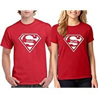 Falcon's Shop Super Dad and Super Mom Couple Valentine's Day Special T-Shirts Tee Shirts 1 Valentine Day Special, Valentine Day Gifts, Valentines, Personalized Valentine's Day Gifts, Valentine T Shirts, Super Dad, Dads, Tee Shirts, Couple