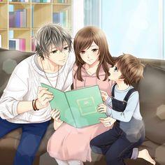 Riku Morimachi - My Last First Kiss Anime Cupples, Anime Couples Manga, Anime Poses, Cute Couple Cartoon, Anime Love Couple, Fire Emblem Azura, Anime Love Story, Romantic Anime Couples, Cute Anime Coupes