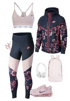 Womens printed leggings leggings in 2019 nike outfits, nike workout, workou Cute Workout Outfits, Workout Attire, Workout Wear, Workout Shirts, Nike Workout, Swag Outfits, Nike Outfits, Sport Outfits, Trendy Outfits