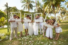 Cool wedding photo idea #wedding #idea #tropics Click the picture to see the whole photoshoot!