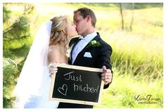 """""""Just Hitched"""" at Ingeli Forest Lodge. Linda Twiggs Photography."""