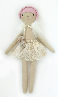Teddy bears, bunnies, or sweet girls in tutus? Which would you prefer? With Mini Boheme, you have all of these options and more. Created by hand in naturally dyed organic linen,, Mini Bohemedolls feature hand stitched faces, beautiful fabric accents, and eco corn fiber filling. You can add a beautifully embroidered name onto their little …