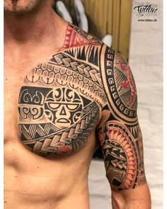 13 wild tattoo designs for the most daring men - maori tattoos Maori Tattoos, Maori Tattoo Frau, Maori Tattoo Meanings, Half Sleeve Tribal Tattoos, Quarter Sleeve Tattoos, Tribal Tattoos For Men, Small Tattoos For Guys, Body Art Tattoos, Samoan Tattoo