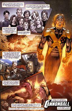Photo by Mutant Midnighter Marvel Comic Books, Comic Books Art, Comic Art, Marvel Comics, Cannonball Marvel, The New Mutants, Cartoon Books, Superhero Design