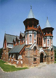 St. John's Church   Gojo Kawaramachi-dori, Shimogyou-ku, Kyoto, built in 1907  |THE MUSEUM MEIJI-MURA #aichi #japan